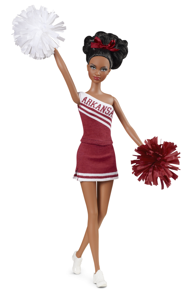 Alabama Cheerleader Barbie