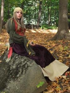 Woman's Gypsy Costume Velvet - Satin - Brocade