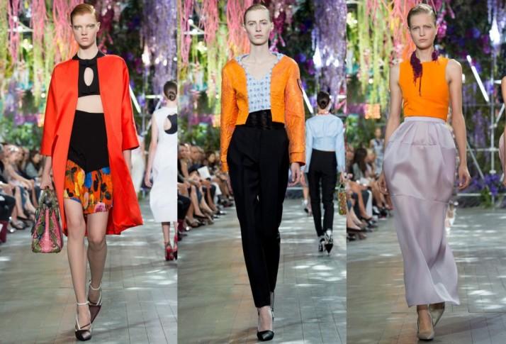 Christian-Dior-Spring-2014-RTW-orange-trend-1024x696