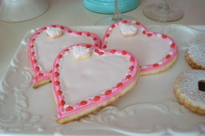 Lemon-Lime Heart Cookies
