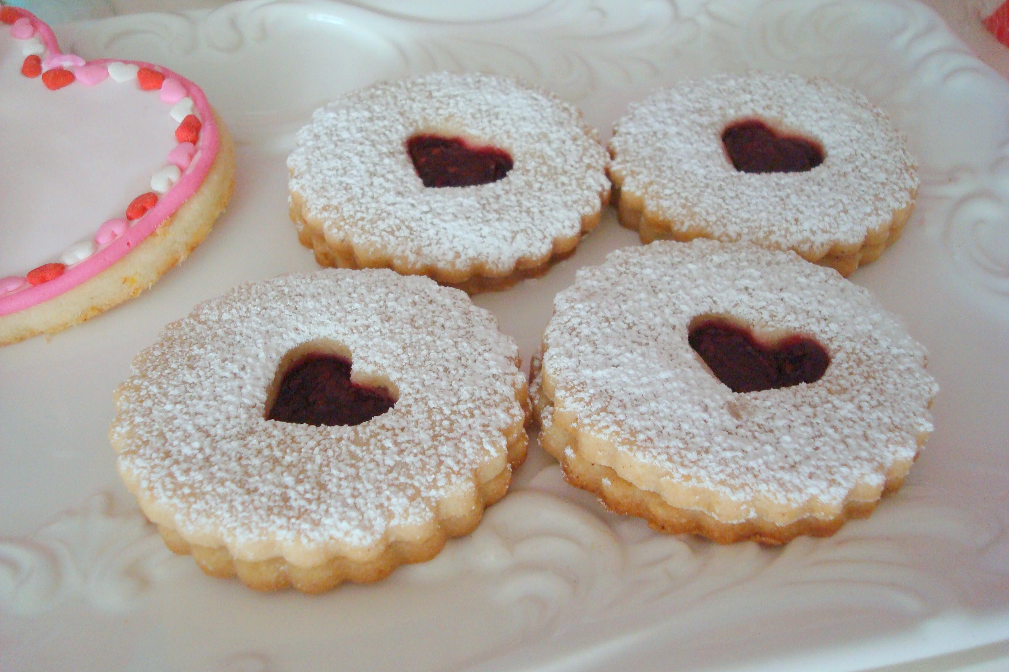 Raspberry Linzer Cookies Recipes — Dishmaps
