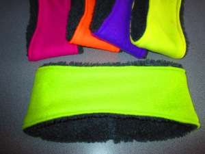 Neon Pink - Neon Orange - Neon Purple - Neon Yellow - Neon Green.