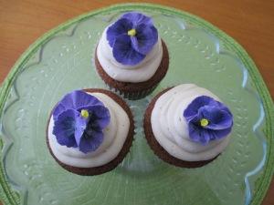 Purple Pansie's